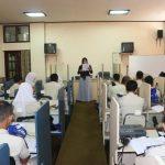 Pelatihan Bahasa Inggris di Pusat Pelatihan Bahasa Sekolah Tinggi Pertanahan Nasional Tahun 2016